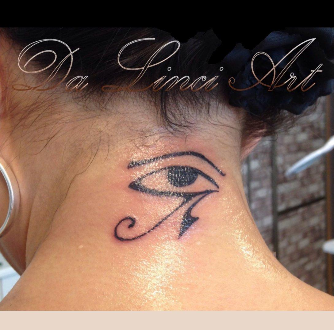 Boze Oog Tattoo.Oog Da Linci Art