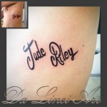 #tattoo #tattoos #letter #name #names #jade #riley #dalinciart #zwijndrecht