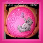 bellypaint girl pink metoyou