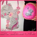 bellypaint pink girl metoyou
