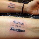 16 150 SH Karma Writingtattoo