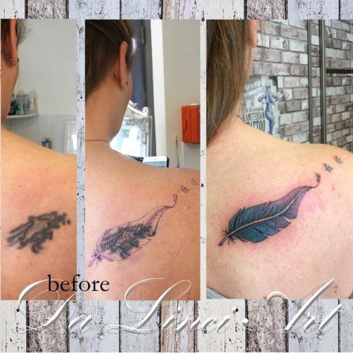 tatoeage vrouw arm
