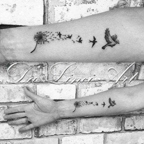 Veer Vogel Tattoo Da Linci Art