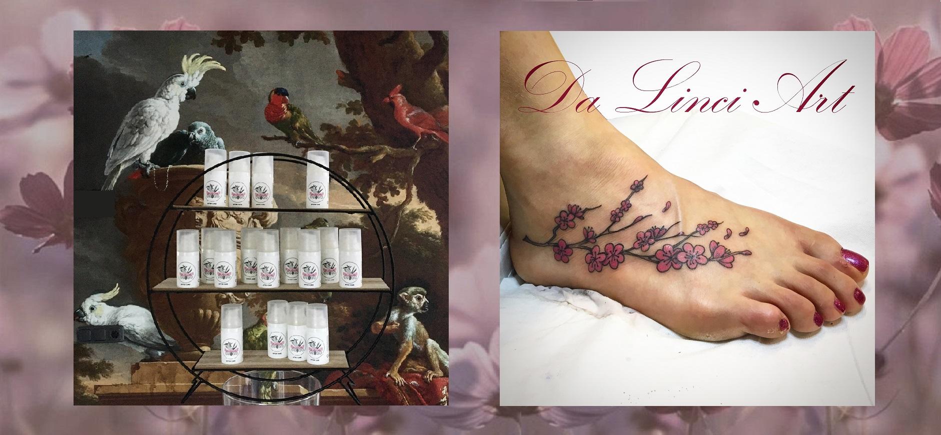 Over Da Linci Art Tattoo